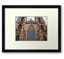 Architectural Genius - York Minster Framed Print