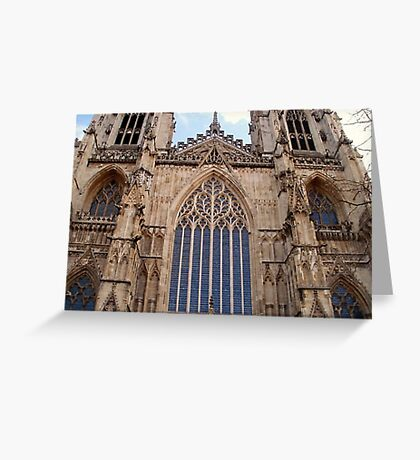 Architectural Genius - York Minster Greeting Card