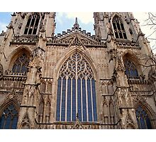 Architectural Genius - York Minster Photographic Print