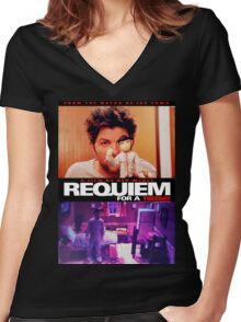 Requiem for a Tuesday Women's Fitted V-Neck T-Shirt