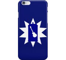 Rocking With The Guitardis iPhone Case/Skin