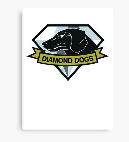 Diamond Dogs (MGSV) Canvas Print