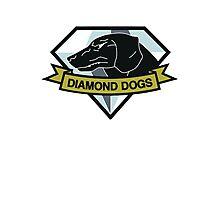 Diamond Dogs (MGSV) Photographic Print