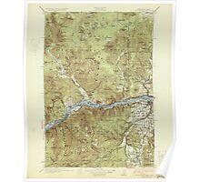 USGS Topo Map Washington Hood River 241561 1929 125000 Poster