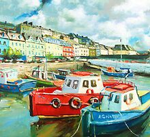 Promenade at Cobh Harbour, Ireland by conchubar