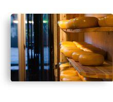 Amsterdam: Cheese Canvas Print