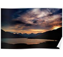 Arrochar Alps At Loch Arklet Poster