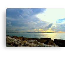 Beirut From A Distance Canvas Print