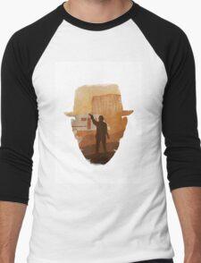 graphical breaking bad tribute Men's Baseball ¾ T-Shirt