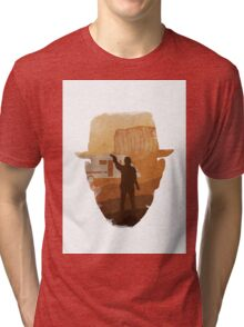graphical breaking bad tribute Tri-blend T-Shirt