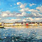 View of Galway Harbour by conchubar