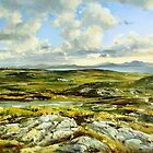 Inishowen Penninsula in County Donegal, Ireland. by conchubar