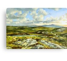 Inishowen Penninsula in County Donegal, Ireland. Canvas Print