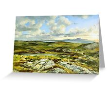 Inishowen Penninsula in County Donegal, Ireland. Greeting Card