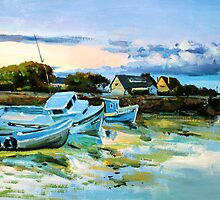 Spiddal Harbour County Galway by conchubar