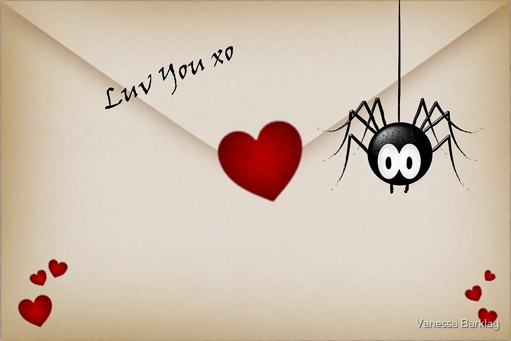 Luv You xo by Vanessa Barklay