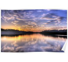 Lavender - Narrabeen Lakes, Sydney Australia - The HDR Experience Poster