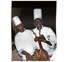 Chefs - Victoria Falls, Zimbabwe Poster