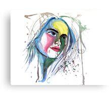 Water Portrait Canvas Print