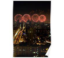 Nny fireworks Poster