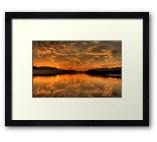 To Behold - Narrabeen Lakes ,Sydney Australia - The HDR Experience Framed Print
