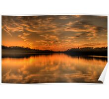 To Behold - Narrabeen Lakes ,Sydney Australia - The HDR Experience Poster