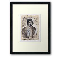 Delacroix's Portrait Framed Print