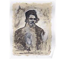 Delacroix's Portrait Poster