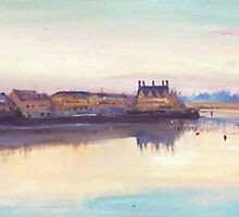 The Quay at Dusk, Ballina, County Mayo by conchubar