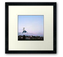 Latios blue sky Framed Print