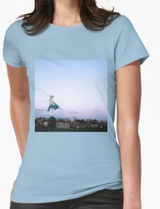 Latios blue sky Womens Fitted T-Shirt