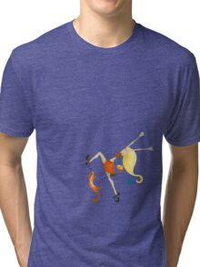 happy Tri-blend T-Shirt