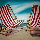Beach Chairs July11 by gillsart