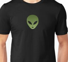 Extraterrestrial Alien Face Unisex T-Shirt