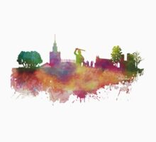Warsaw skyline One Piece - Long Sleeve
