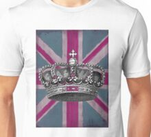 Union Jack and Crown Unisex T-Shirt
