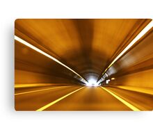 High Speed Tunnel Canvas Print