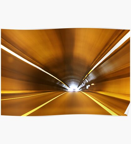 High Speed Tunnel Poster