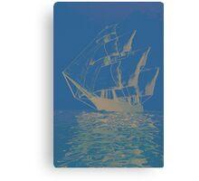 Windjammer Canvas Print