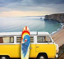 Surfer Van by Manuel Fernandes