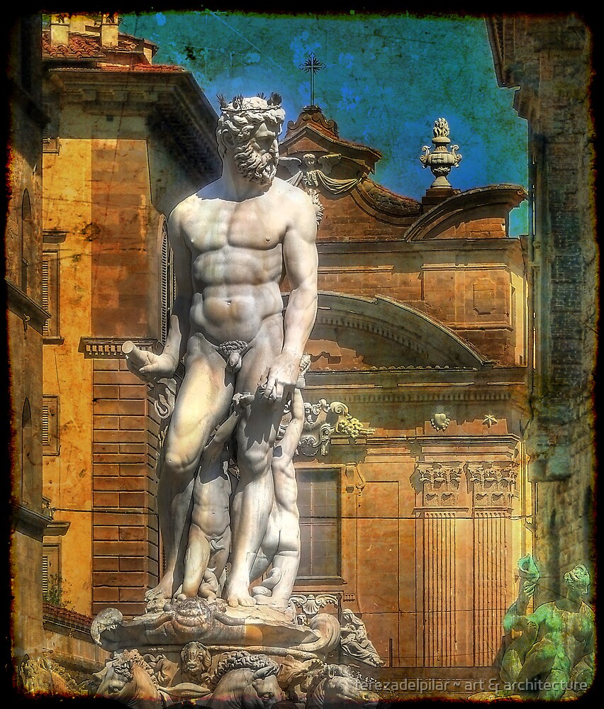 Neptuno . Florence by terezadelpilar~ art & architecture