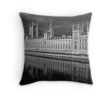 Palace of Westminster, London Throw Pillow
