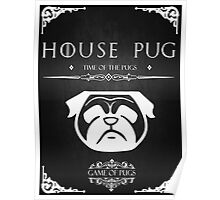 House Of Pugs Poster