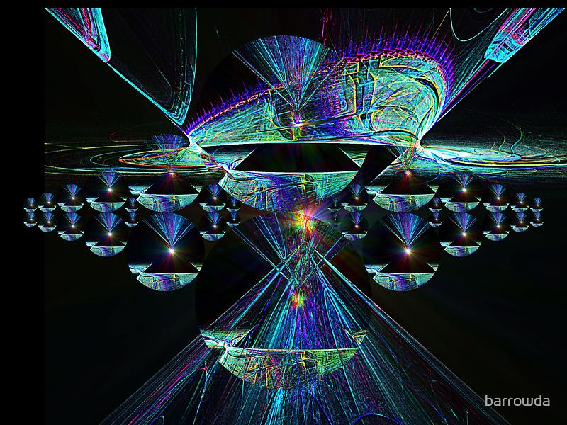 Space Armada from Disc Julian #15 (UF0364) by barrowda