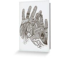 Dactiloscopia Greeting Card