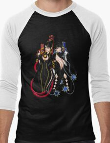 Bayonetta - Umbra Witch - A Men's Baseball ¾ T-Shirt