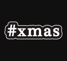 Xmas - Christmas - Hashtag - Black & White One Piece - Long Sleeve