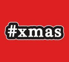 Xmas - Christmas - Hashtag - Black & White by graphix