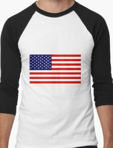 Stars & Stripes - United States of America Men's Baseball ¾ T-Shirt