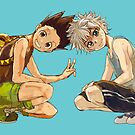 HxH - Gon & Killua by banafria